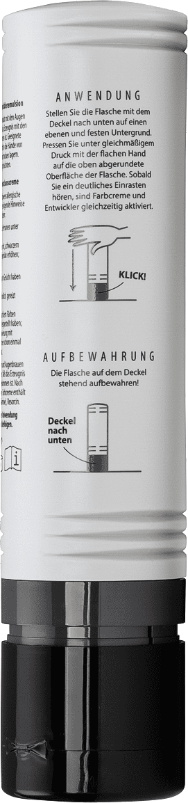 ONE COLOR Flasche Anwendungsbeschreibung